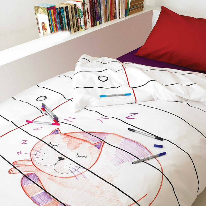doodle-duvet-cover-single-to-personalise-eatsleepdoodle-with-regard-to-cool-duvet-covers-decor