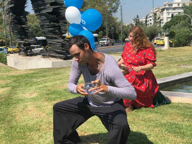 Χορός στην ημέρα ευεξίας με κρυστάλλους 2019