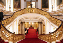 Buckingham παλάτι ξενάγηση