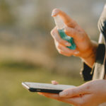 κορονοϊός κινητό καθάρισμα