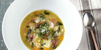 σούπα μινεστρόνε light συνταγή