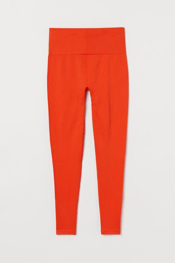 πορτοκαλί παντελόνι για γυμανστήριο