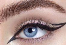 eyliner μάτια στάμπες