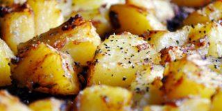 Πατάτες φούρνου χωρίς λάδι