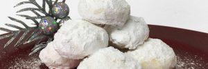 DIY- Vegetarian κουραμπιέδες χωρίς γλουτένη & με χαμηλούς υδατάνθρακες